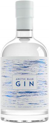 [kuva: Arctic Blue Navy Strength Gin(© Alko)]