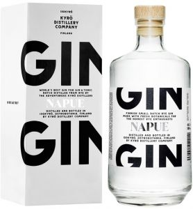 [kuva: Kyrö Napue Gin lahjapakkaus(© Alko)]