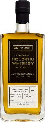 [kuva: Helsinki Whiskey Release #13 Oloroso Finish Rye Malt(© Alko)]