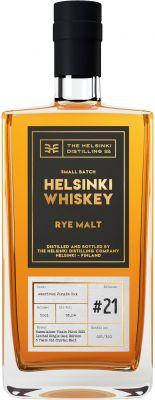 [kuva: Helsinki Whiskey Rye Malt Release #21(© Alko)]