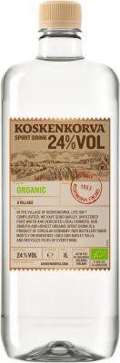 [kuva: Koskenkorva Spirit Drink Organic muovipullo(© Alko)]