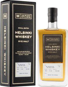 [kuva: Helsinki Whiskey Release #14 Rum Cask Finish Rye Malt(© Alko)]