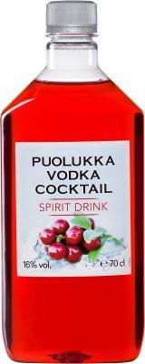 [kuva: Puolukkavodka Cocktail muovipullo(© Alko)]