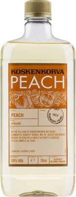 [kuva: Koskenkorva Peach muovipullo(© Alko)]