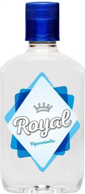 [kuva: Royal Piparminttu Snapsi muovipullo(© Alko)]