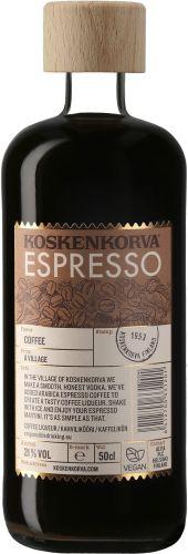 [kuva: Koskenkorva Espresso(© Alko)]