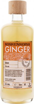 [kuva: Koskenkorva Ginger(© Alko)]