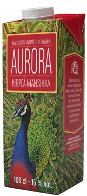 [kuva: Aurora Kirpeä Mansikka kartonkitölkki(© Alko)]