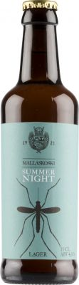 [kuva: Mallaskosken Summer Night Lager(© Alko)]
