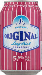 [kuva: Original Long Drink Cranberry tölkki(© Alko)]
