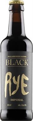 [kuva: Mallaskosken Black Imperial Rye(© Alko)]
