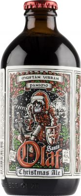 [kuva: Mustan Virran Santa Olaf Christmas Ale(© Alko)]