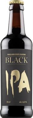 [kuva: Mallaskosken Panimo Black IPA(© Alko)]