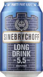 [kuva: Sinebrychoff Gin Long Drink(© Alko)]