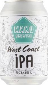 [kuva: Maku West Coast IPA tölkki(© Alko)]
