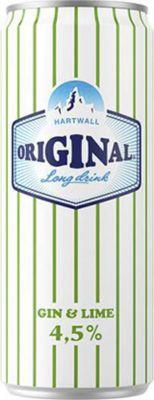 [kuva: Hartwall Original Long Drink Gin & Lime tölkki(© Alko)]