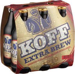 [kuva: Koff Extra Brew 6-pack(© Alko)]