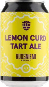 [kuva: Ruosniemen Lemon Curd Tart Ale tölkki(© Alko)]