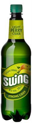 [kuva: Swing Light Perry Strong Cider muovipullo(© Alko)]