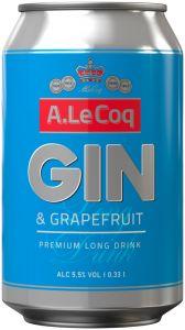 [kuva: A. Le Coq Gin Long Drink tölkki(© Alko)]