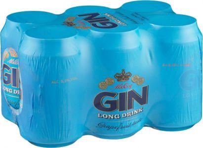 [kuva: A. Le Coq Gin Long Drink 6-pack tölkki(© Alko)]