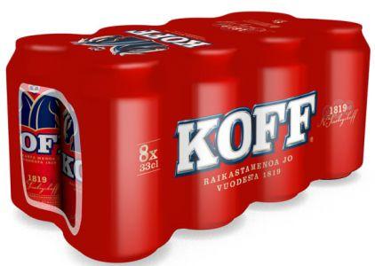 [kuva: Koff III 8-pack tölkki(© Alko)]