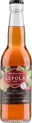 [kuva: Lepola Cherry Apple Cider(© Alko)]
