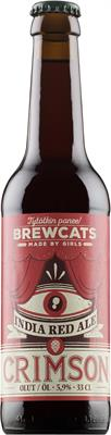 [kuva: Brewcats Crimson India Red Ale(© Alko)]