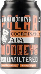 [kuva: Polar Monkeys Coordinator APA tölkki(© Alko)]