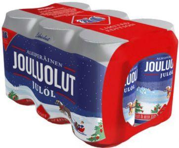 [kuva: Koff Jouluolut 6-pack tölkki(© Alko)]