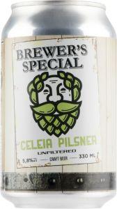 [kuva: Saimaa Brewer's Special Celeia Pilsner tölkki(© Alko)]