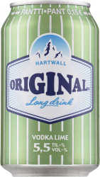 [kuva: Original Long Drink Vodka Lime tölkki(© Alko)]