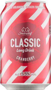 [kuva: Sinebrychoff Cranberry Long Drink tölkki(© Alko)]