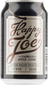 [kuva: Happy Joe Oakwood Apple Cider tölkki(© Alko)]