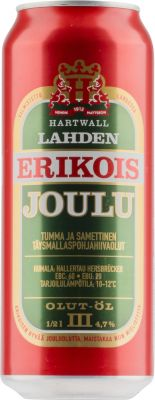 [kuva: Lahden Erikois Joulu tölkki(© Alko)]