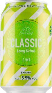 [kuva: Sinebrychoff Long Drink Lime tölkki(© Alko)]