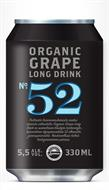 [kuva: No. 52 Organic Grape Long Drink  tölkki(© Alko)]