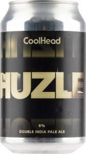 [kuva: Coolhead Huzle Double IPA tölkki(© Alko)]