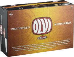 [kuva: Olvi Export A 24-pack  tölkki 24 x 0,33 l(© Alko)]