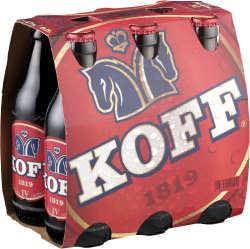 [kuva: Koff IV A 6-pack pullo 6 x 0,33 l(© Alko)]