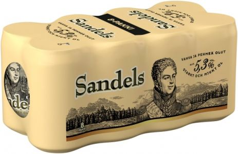 [kuva: Sandels A 8-pack tölkki(© Alko)]