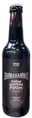[kuva: Juomahammas Oaked Imperial Porter II Matured With Whisky Barrel Chips(© Alko)]