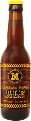 [kuva: Mallaskuun American Brown Ale(© Alko)]