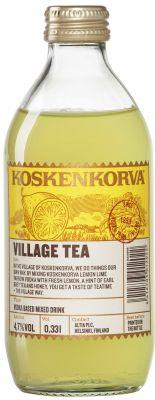 [kuva: Koskenkorva Village Tea(© Alko)]
