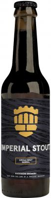 [kuva: Ruosniemen Single Malt Barrel Imperial Stout(© Alko)]