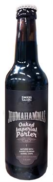 [kuva: Juomahammas Oaked Imperial Porter I Matured With Sherry Oloroso Barrel Chips(© Alko)]