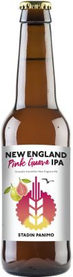 [kuva: Stadin New England Pink Guava IPA(© Alko)]