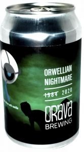 [kuva: Orava Orwellian Nightmare 2020 tölkki(© Alko)]