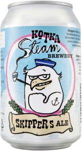 [kuva: Kotka Steam Skipper's Ale tölkki(© Alko)]