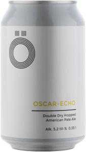 [kuva: Ö Brewing Oscar-Echo DDH APA tölkki(© Alko)]